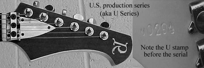 Parker Guitar Serial Number Decoderl